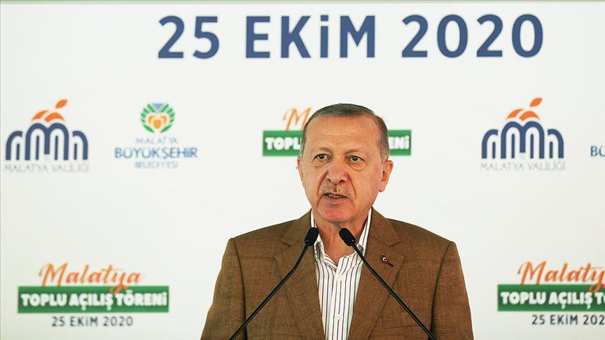 Cumhurbaşkanı Erdoğan Toplu Açılış Töreni'ne katıldı!