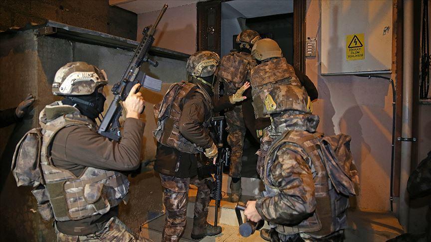Başkentte terör örgütü DEAŞ'a yönelik operasyon: 18 gözaltı