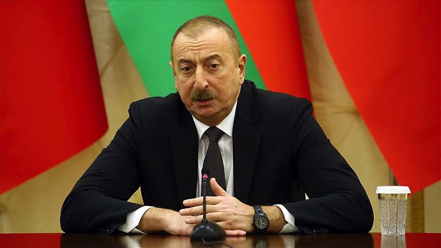 Aliyev net konuştu: Ateşkes isteyenler Ermenistan'a silahlar gönderiyor