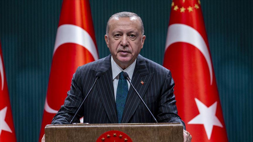 Erdoğan: 2023 hedeflerimize ulaşma kararlılığı içinde yolumuza devam ediyoruz