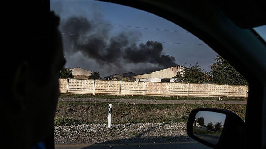 FLAŞ / Ermenistan Berde şehir merkezini vurdu!