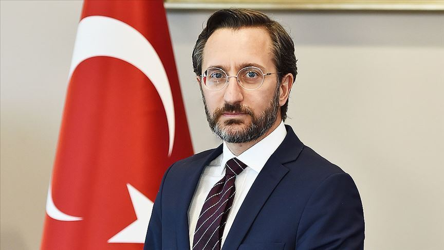 Cumhurbaşkanlığı İletişim Başkanı Altun'dan Cumhuriyet Mesajı