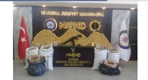 'İstanbul'da Uyuşturucu Operasyonu'