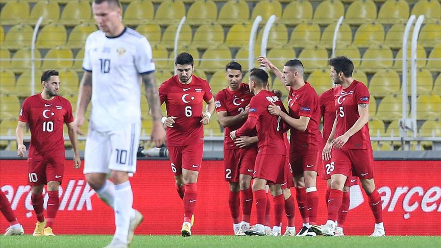 A Milli Futbol Takımı, Rusya'yı 3 golle devirdi!