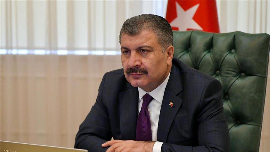 Sağlık Bakanı Koca, 7 ilin sağlık müdürüyle salgının son durumunu görüştü