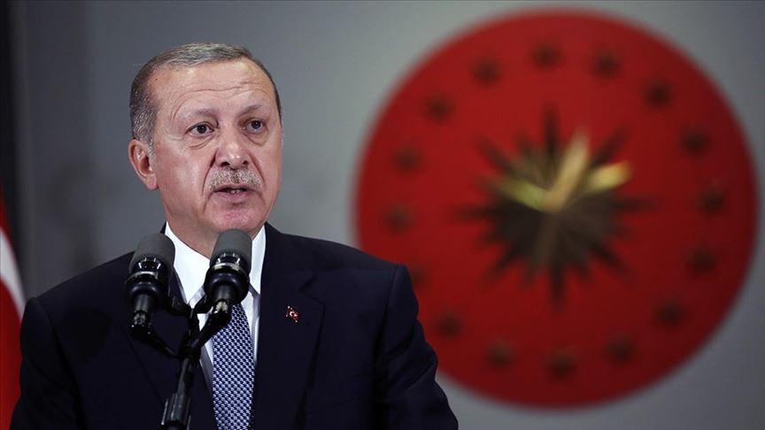 Erdoğan: Önümüzdeki dönem içinde yine tek dayanağımız milletimizdir