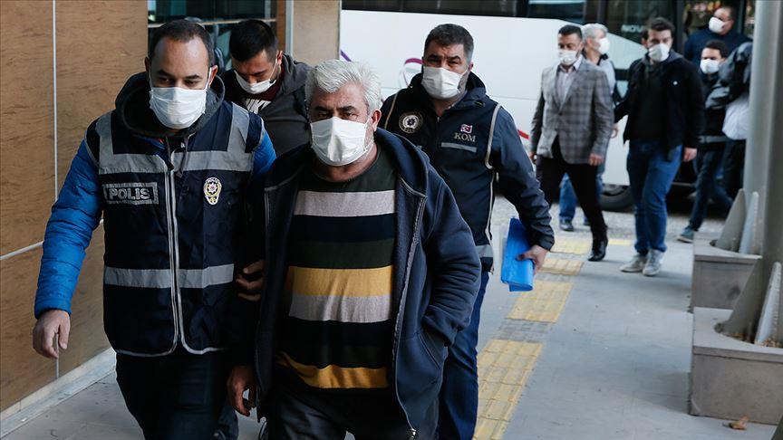 Menemen Belediyesindeki 'zimmet ve irtikap' iddialarıyla ilgili 23 şüpheli adliyeye sevk edildi