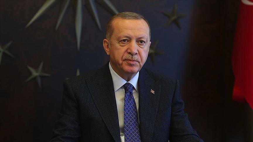 """Cumhurbaşkanı Erdoğan'dan """"24 Kasım Mesajı"""""""