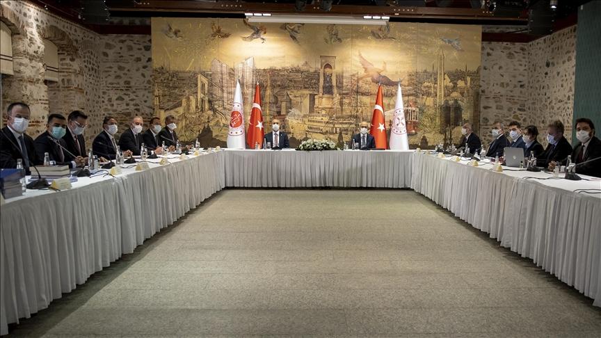 Bakan Elvan ve Gül, TÜSİAD yönetimiyle bir araya geldi!