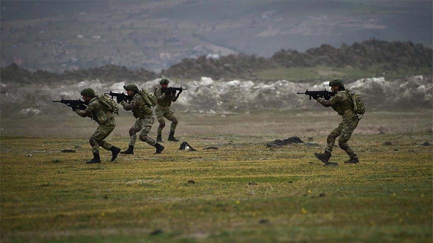 Barış Pınarı bölgesine sızma girişimindeki 4 terörist etkisiz hale getirildi