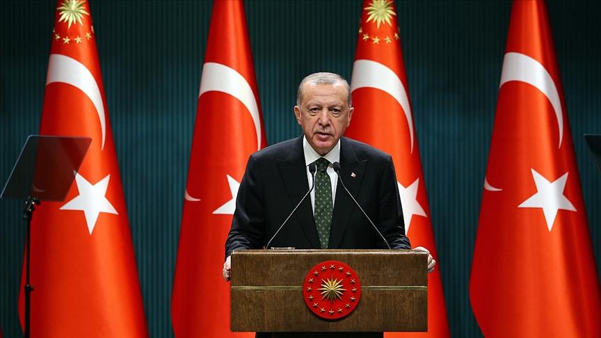 Cumhurbaşkanı Erdoğan: Gece 21'den Sabah 05'e kadar sokağa çıkılmayacak!