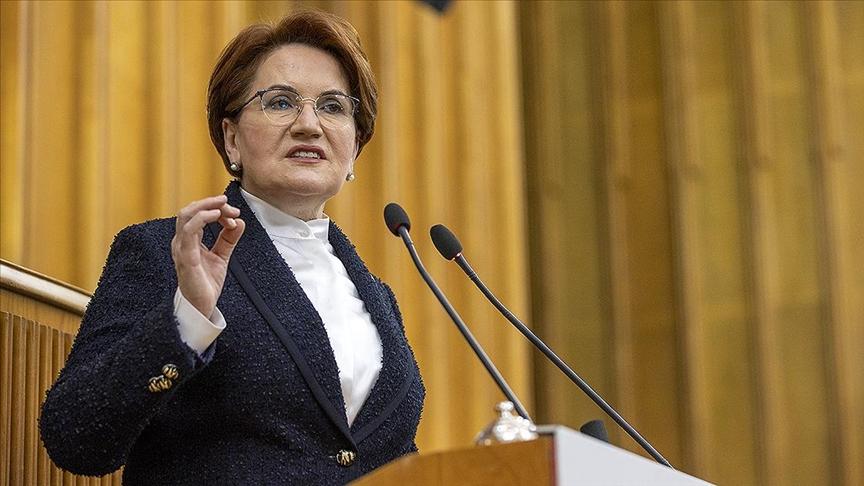 İYİ Parti Genel Başkanı Akşener: Pandemiye karşı somut adımlar atılması gerekiyor