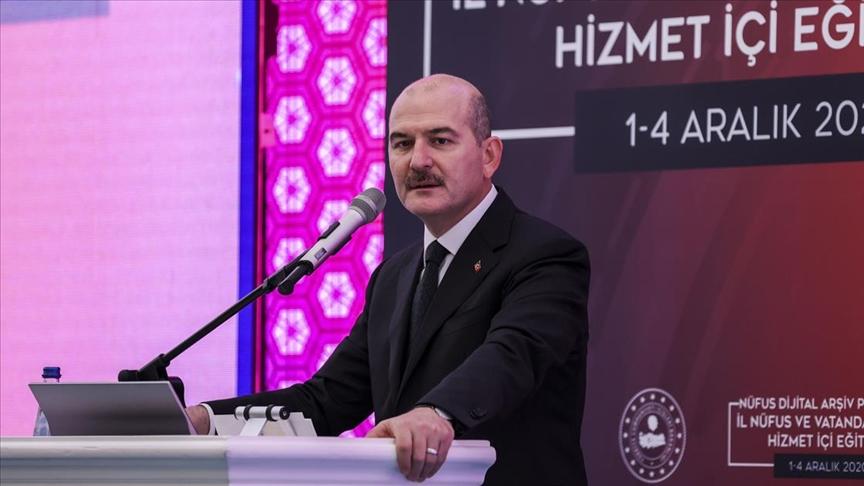 Soylu: Şu ana kadar Türkiye nüfusunun yüzde 74'ünün kimlik kartını değiştirdik