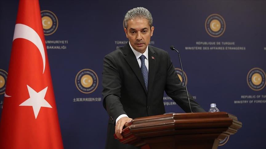 """""""Türkiye ön koşulsuz diyaloğa açık yaklaşımını sürdürecektir"""""""
