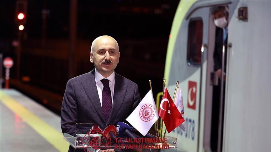 Türkiye'den Çin'e ilk ihracat treni yarın yola çıkacak!
