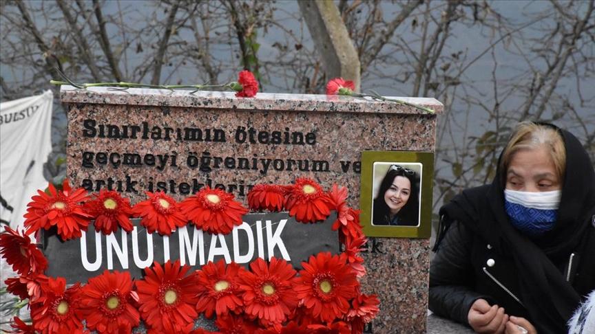Ceren Özdemir, vefatının birinci yılında kabri başında anıldı!