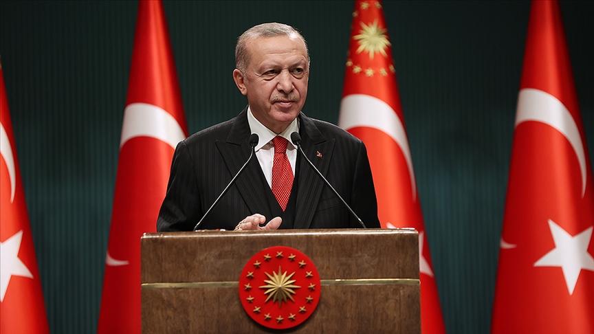 Cumhurbaşkanı Erdoğan: Uluslararası toplum 21'inci yüzyılın en büyük küresel imtihanıyla karşı karşıya