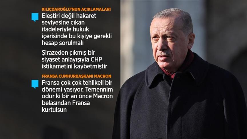Cumhurbaşkanı Erdoğan: Aşı olma konusunda herhangi bir sıkıntım yok