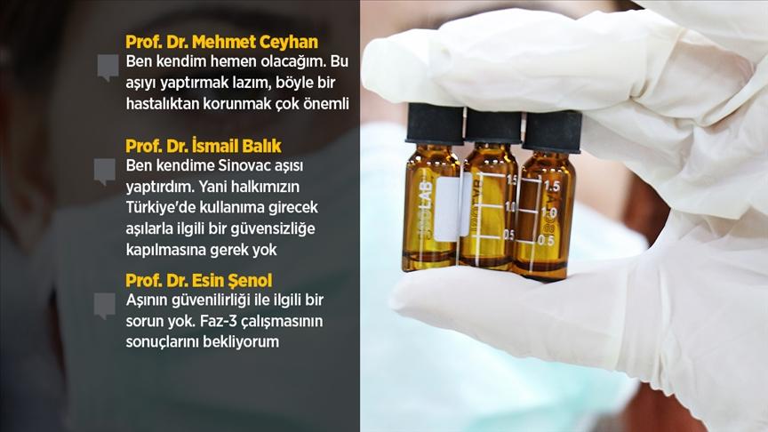 Türk bilim insanları Türkiye'ye gelecek Kovid-19 aşılarının güvenilirliğinden kuşku duymuyor