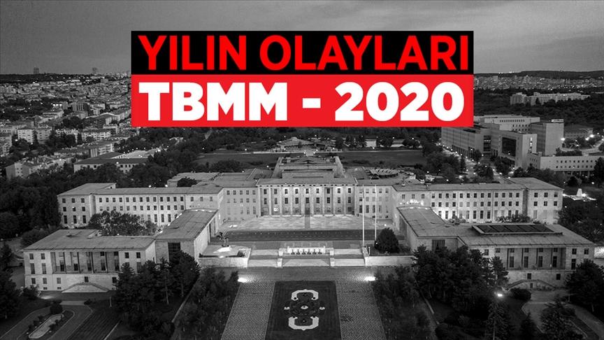...TBMM'de 2020 Yılı böyle geçti...