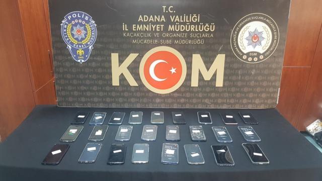 'Adana'da Kaçakçılık Operasyonu'
