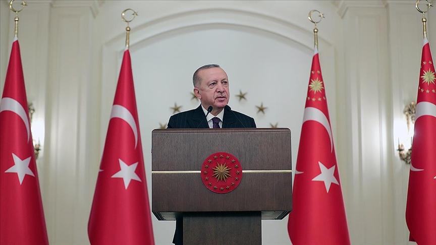 Cumhurbaşkanı Erdoğan: Yerli aşılarımızı insanlığın hizmetine sunacağız!