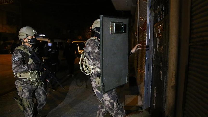 Adana'da suç örgütüne yönelik soruşturmada 55 gözaltı kararı