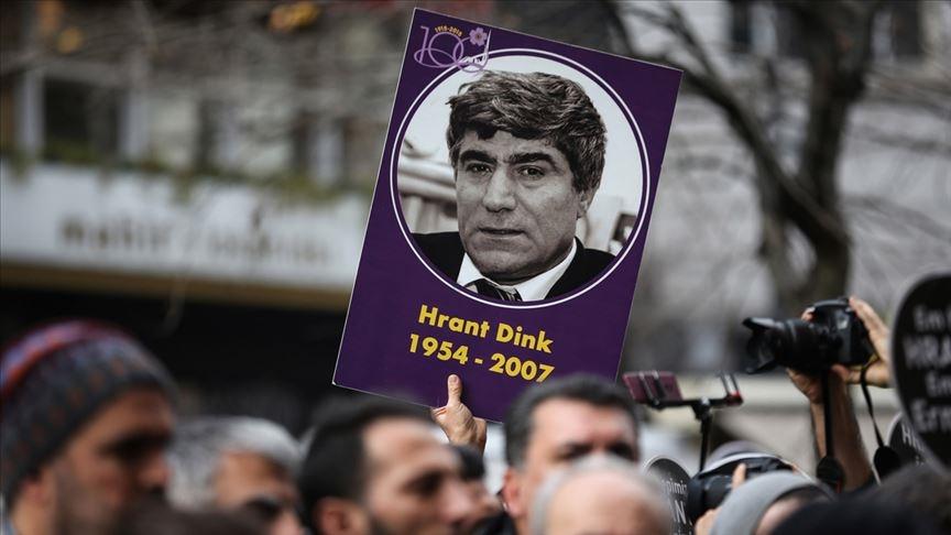 Hrant Dink'in öldürülmesinin üzerinden 14 yıl geçti!