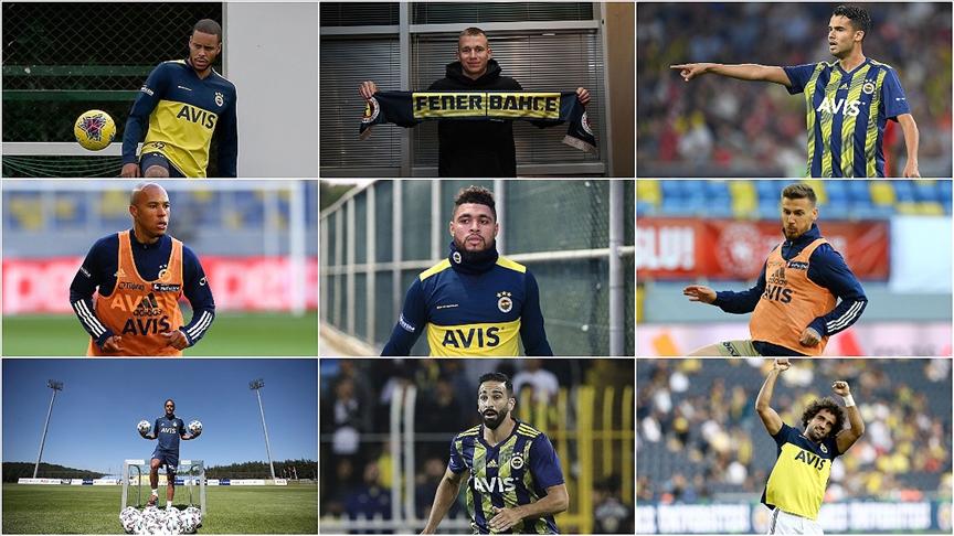 'Fenerbahçe'den 2,5 yılda 9 stoper transferi'