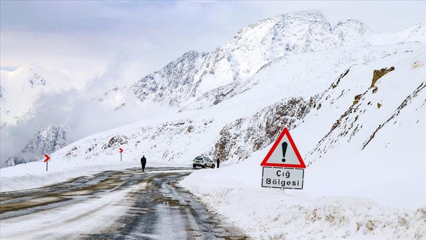 Meteoroloji'den Doğu bölgeleri için ÇIĞ uyarısı