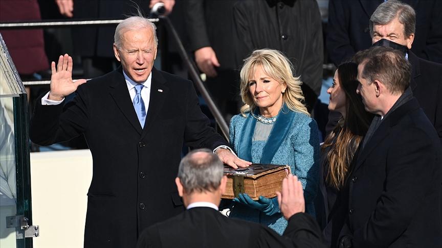 Joe Biden yemin ederek ABD'nin 46. başkanı oldu!