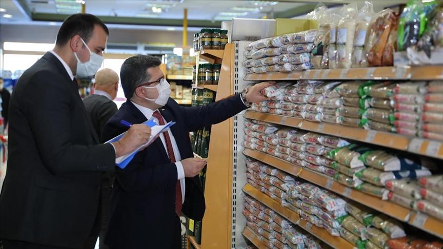 Ticaret Bakanlığı'nca temel ihtiyaç ürünlerinde 'fahiş fiyat' denetimi yapıldı