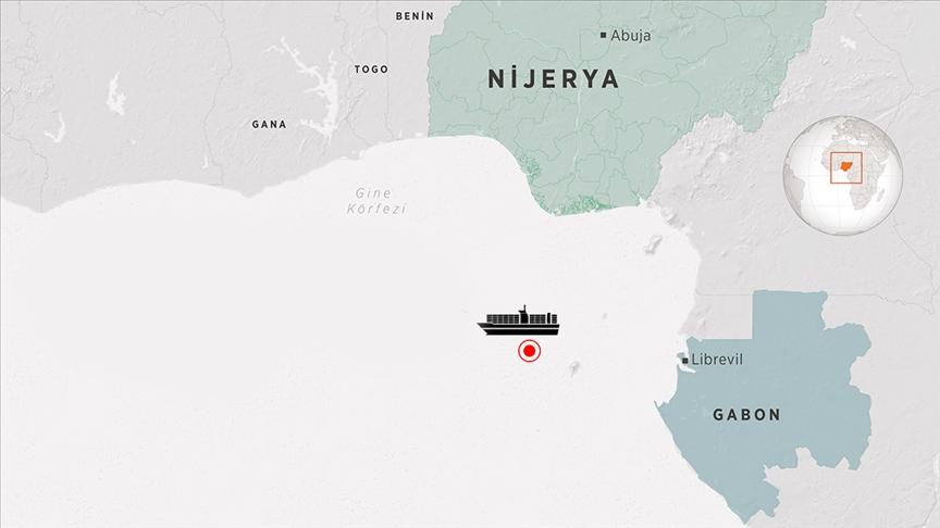 Karaismailoğlu: Gine Körfezi'nde korsan saldırısına uğrayan gemi saat 11.00'de Gabon'un Gentil Limanı'na demirledi