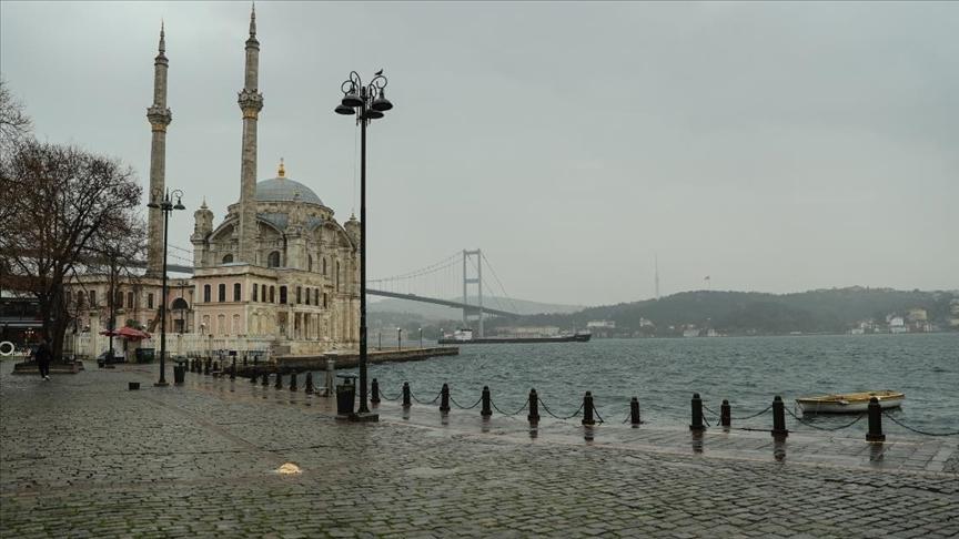 'İstanbul'da kısıtlama sessizliği hakim'