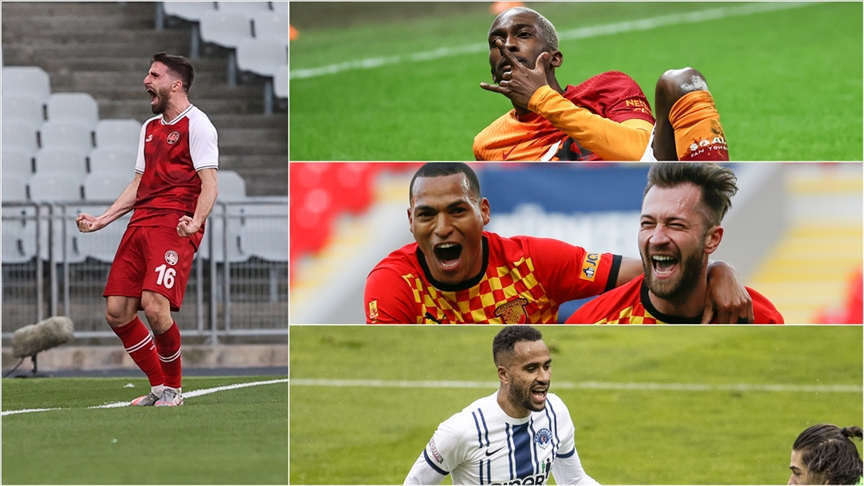 'Süper Lig'de yenilerden 25 gol'