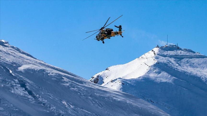 Pençe Kartal-2 Harekatı'nda 2 PKK'lı terörist hava harekatıyla etkisiz hale getirildi