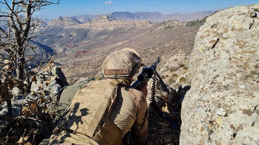 Eren Operasyonları terör örgütünün kış yapılanmasına ağır darbe vurdu