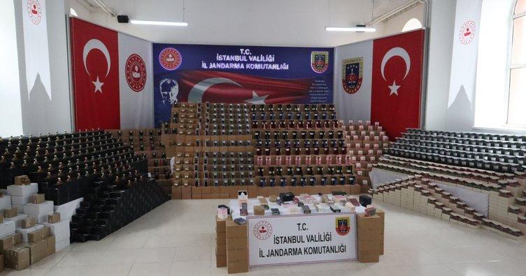'Jandarmadan Sahte PARFÜM operasyonu'