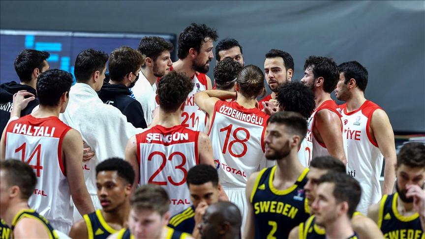 A Milli Erkek Basketbol Takımı Avrupa Şampiyonası'nda..