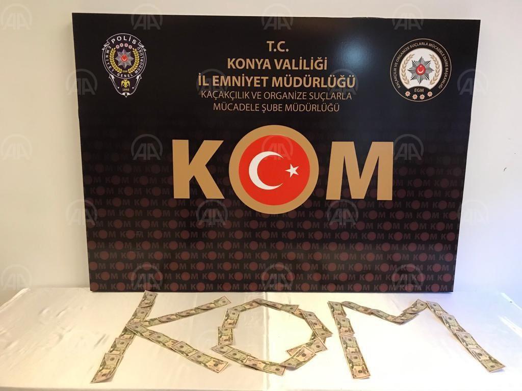 Konya'da 11 bin 700 uyuşturucu hap ele geçirildi!