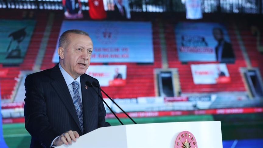 Erdoğan: 81 ilde bugüne kadar 1,5 milyon konutun dönüşümünü tamamladık