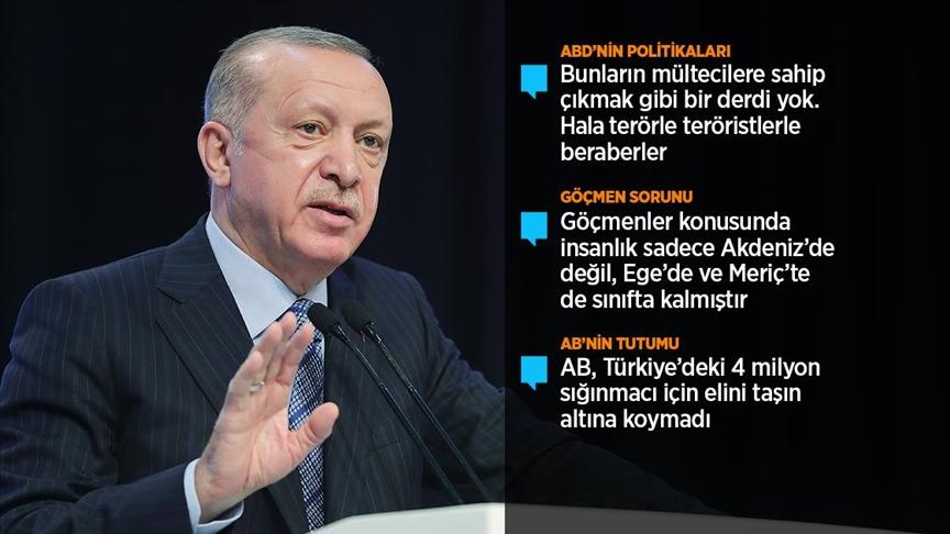 Cumhurbaşkanı Erdoğan: Saldırıların devamı halinde diğer bölgelere yönelik adım atmaktan çekinmeyiz