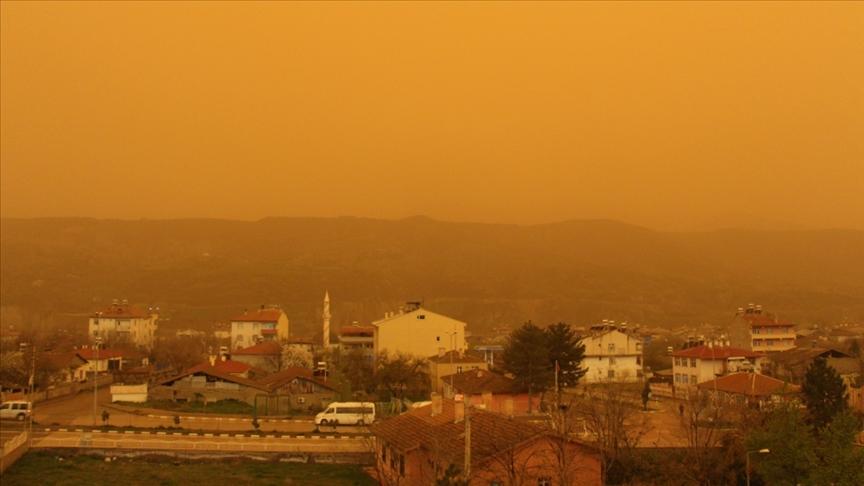 Türkiye, Avrupa'dan gelecek çöl tozu etkisine giriyor!