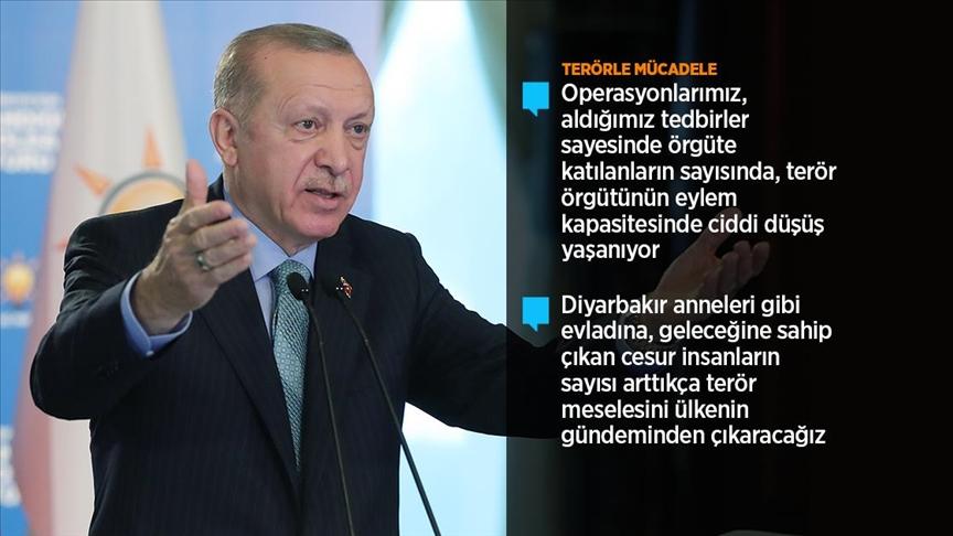 Cumhurbaşkanı Erdoğan: Alçaklara, döktükleri her damla kanın hesabını misliyle soruyoruz