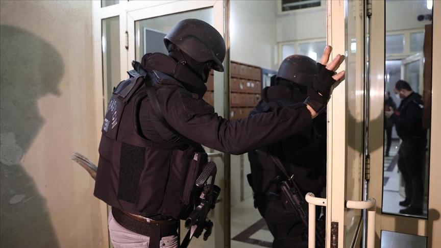 Başkentte terör örgütü DEAŞ mensubu 7 yabancı uyruklu hakkında gözaltı kararı verildi