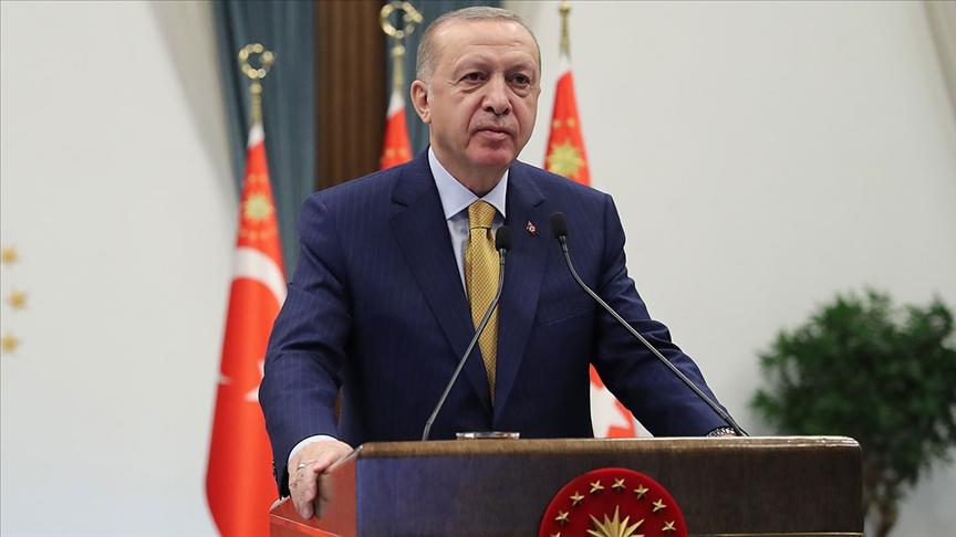 Cumhurbaşkanı Erdoğan merhum başbakanlardan Erbakan'ı andı