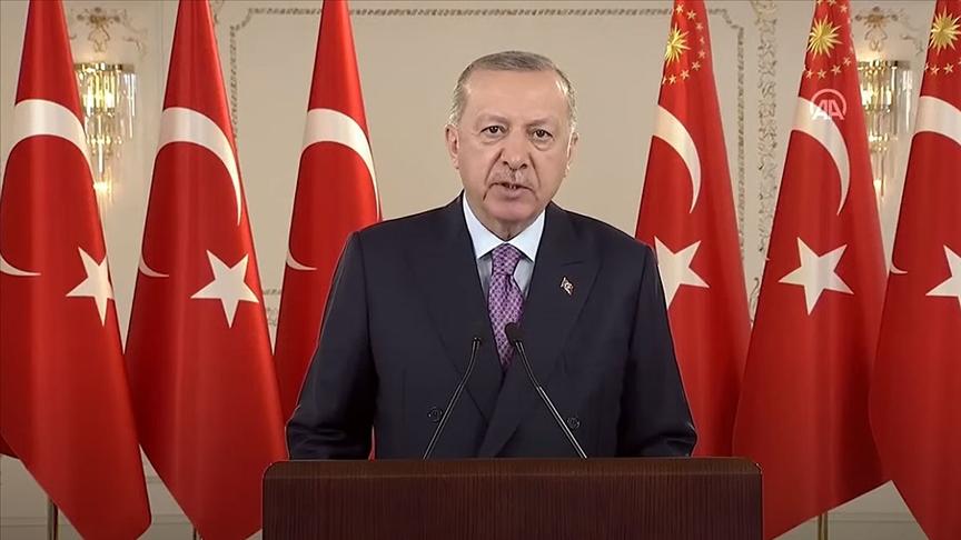Erdoğan: Ülkemizin bütünlüğü ve devletimizin bekası için gerekiyorsa hayatımızı ortaya koyuyoruz