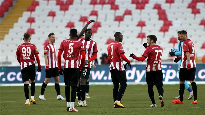 Sivasspor, ligde 4 maçtır yenilmiyor!