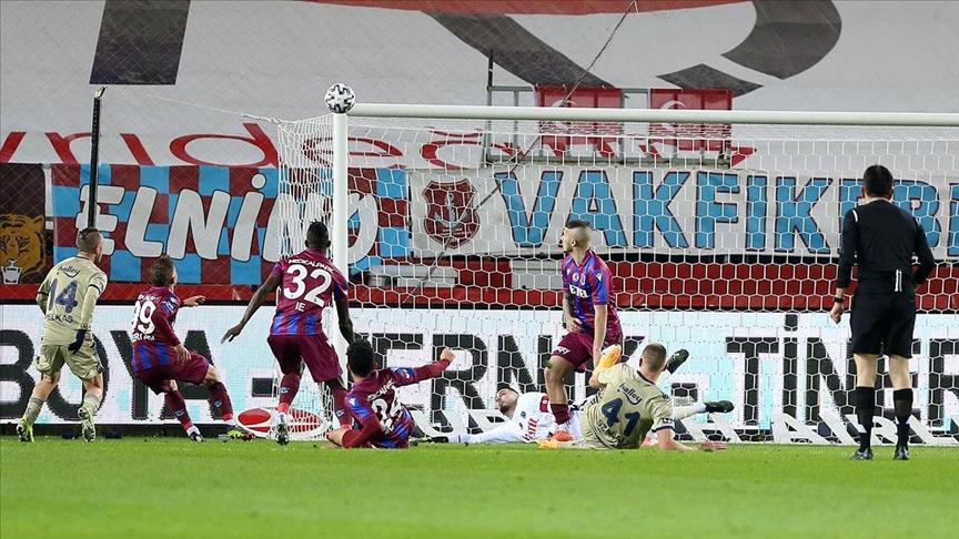 Trabzonspor: 0 - Fenerbahçe: 1 | MAÇ SONUCU