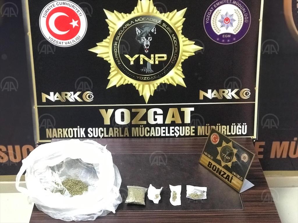 Yozgat'ta uyuşturucu operasyonu: 4 gözaltı